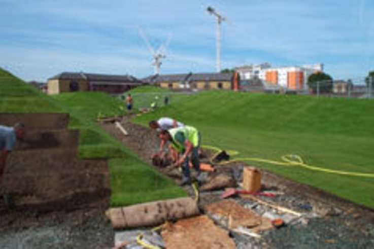 Creative turfing wins award for Baylis