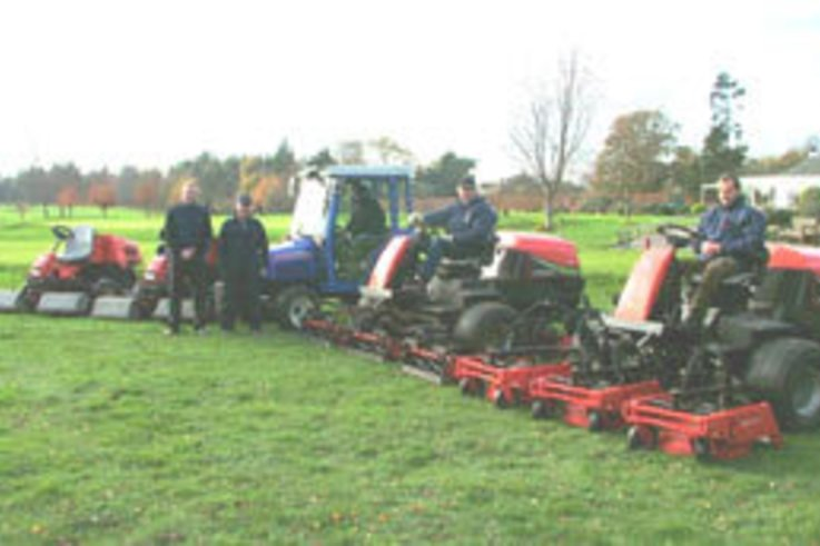 Articulated rotary mower transforms the rough at Eaton Golf Club