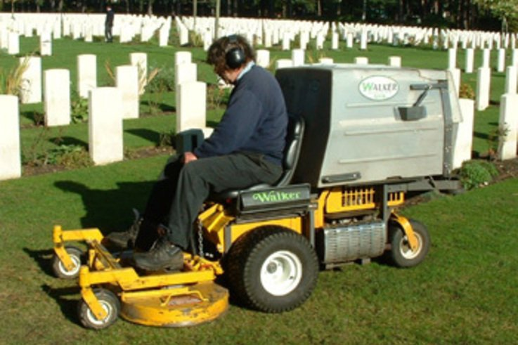 Walker Mowers at Brookwood cemetery