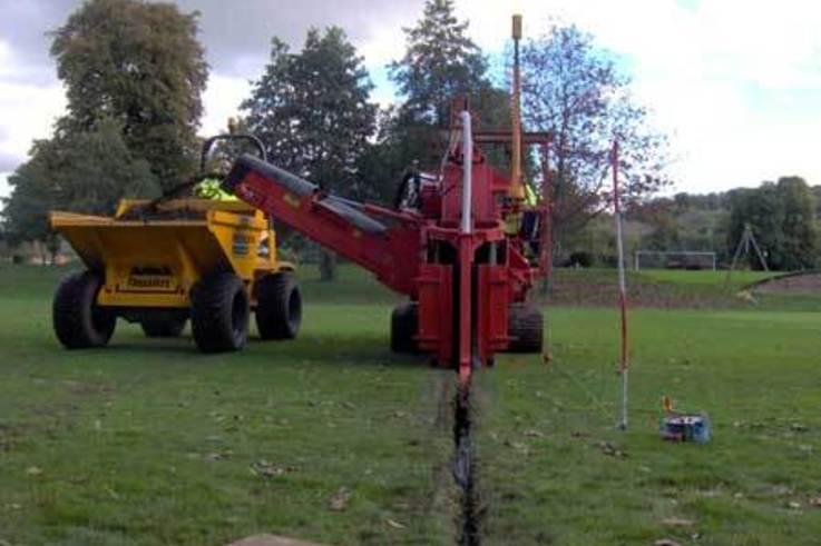 LDCA Drainage Day at  Bisham Abbey