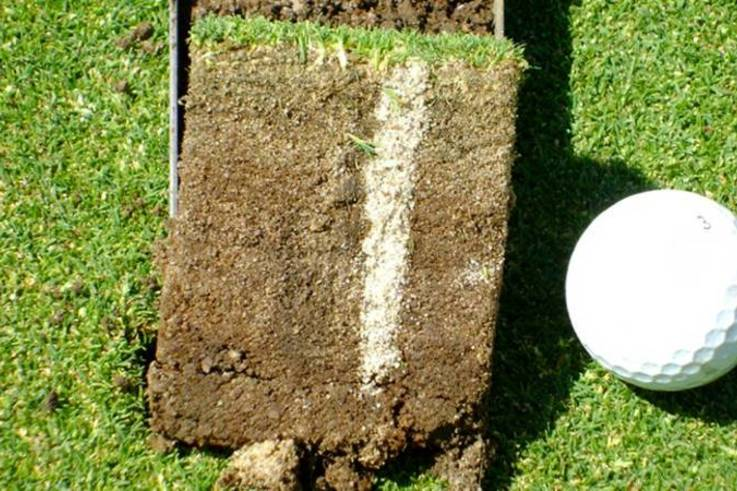 aeration on golf courses