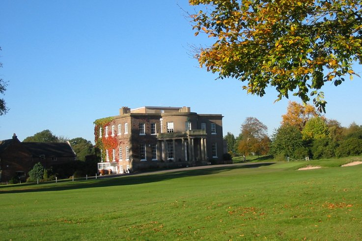 Ian takes control at Brocton Hall
