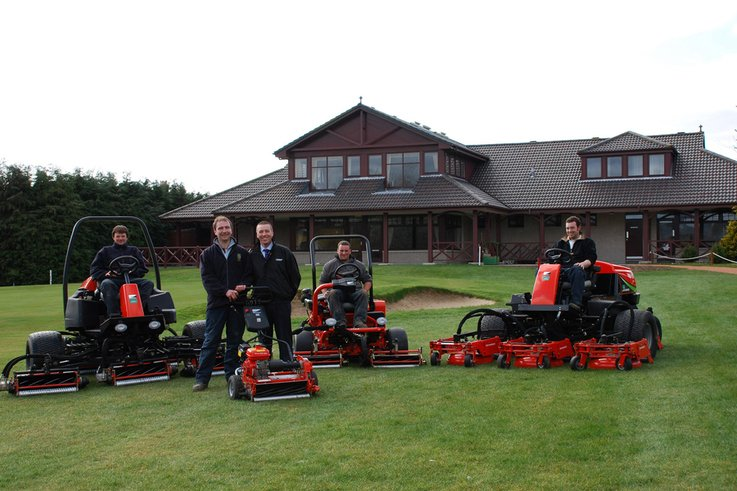 New Jacobsen Equipment for Alford Golf Club