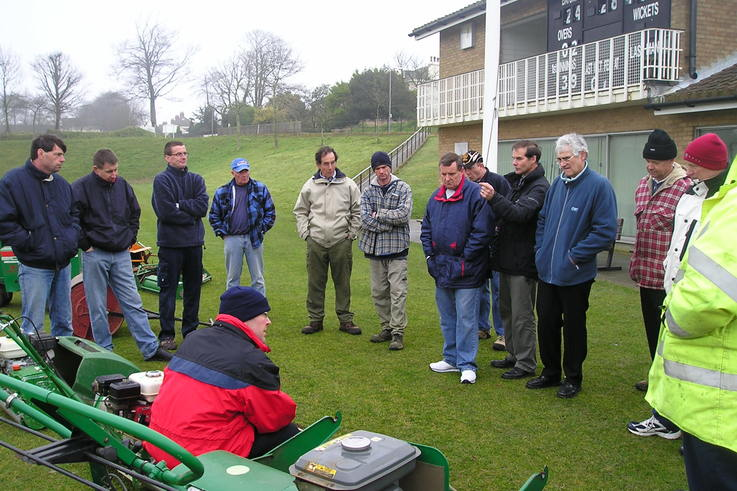 Jersey Groundstaff Prepare for ICC World Cup