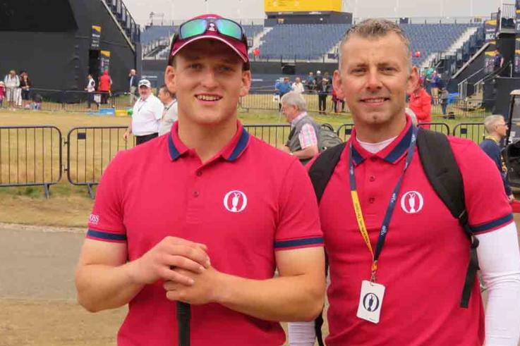 Angus Roberts And Dale Housden Joined The BIGGA Open Volunteer Support Team In 2018
