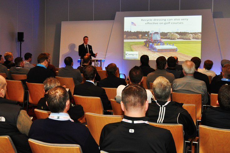 Campey export sales manager David Harrison at a BTME seminar DSC 0335