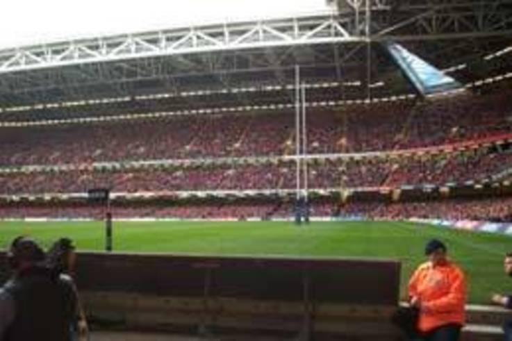 Rugby post safe handling
