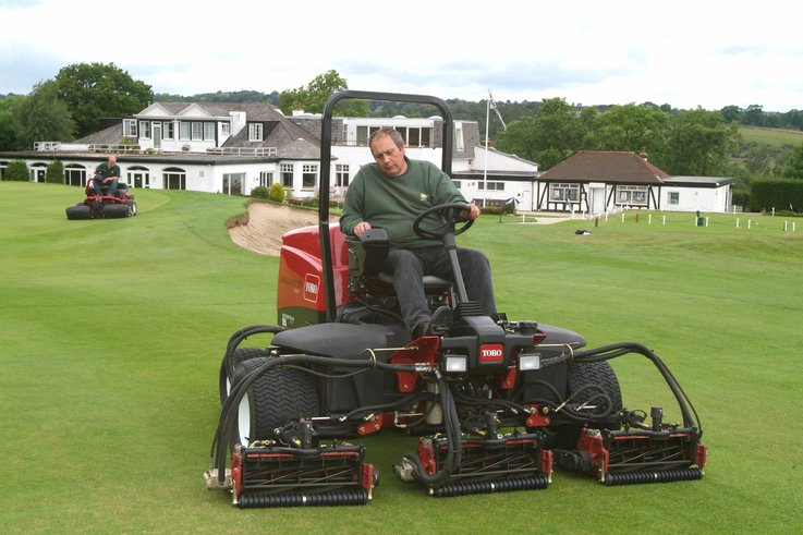 TORO mowers a boon  in the wet for Pannal GC