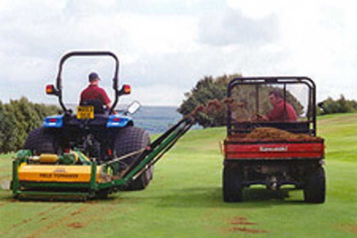 Campey machines beat thatch problem