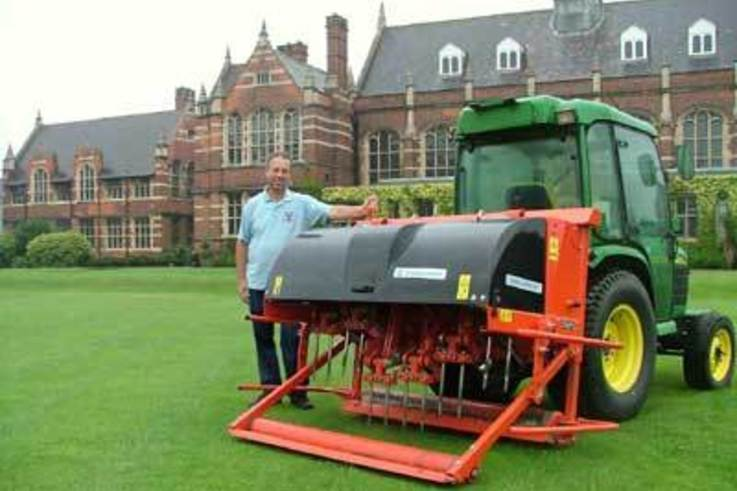 Sporting Excellence at Hymers College requires immaculate sport surfaces.
