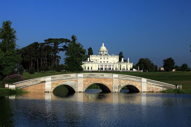 Stoke Park Country Club & Hotel Mansion and Bridge