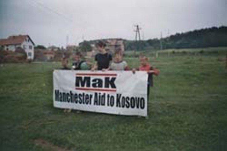 Manchester Peace Park, Kosovo