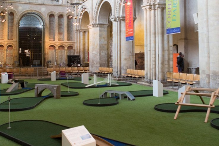 Rochester Cathedral's crazy golf.jpg