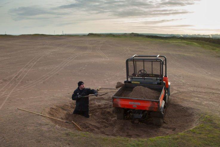 Montrose Golf Links Storms