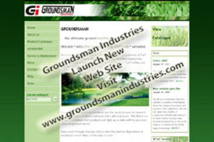 Launch of New Groundsman Industries Website