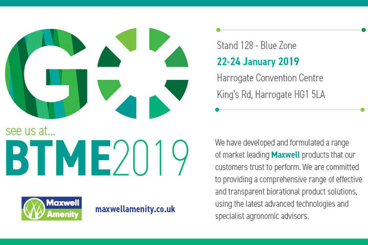 Maxwell GO BTME 2019 Advert