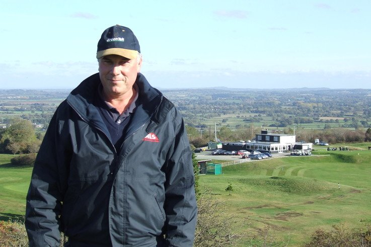 Allen Lewis Llanymynech Grounds Manager