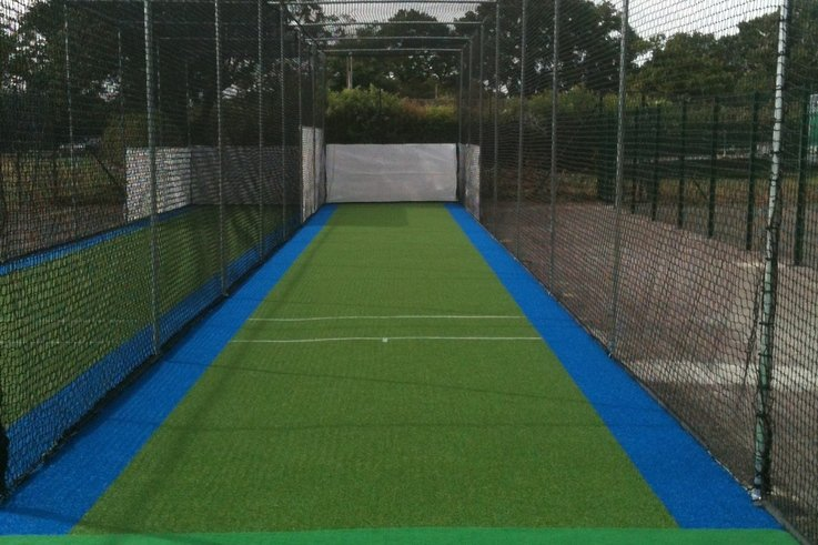 After   the new cricket practice facility in place