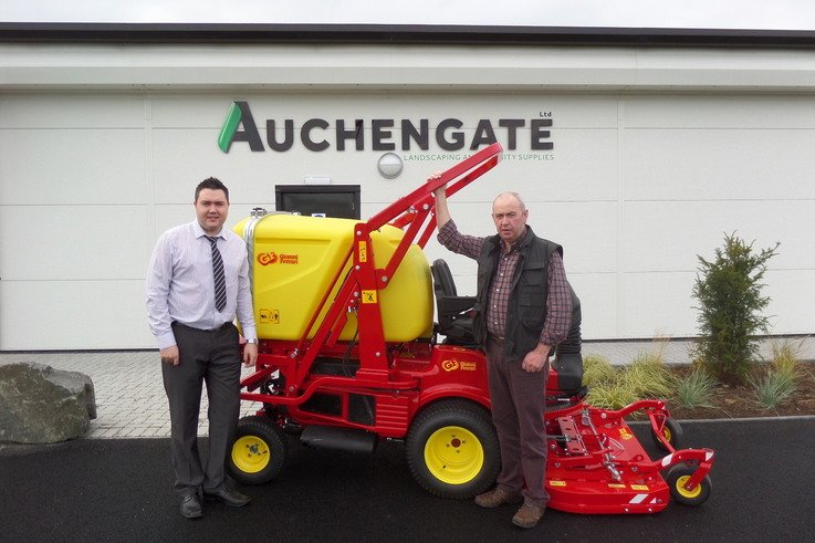 General Manager of Auchengate and owner Alastair Hill