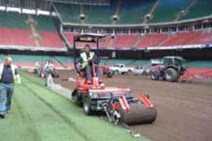 Kestrel's new turf machine sets the standard