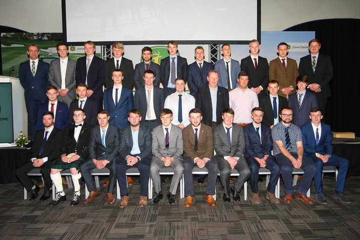 A John Deere Apprentice Graduation 2018 Group