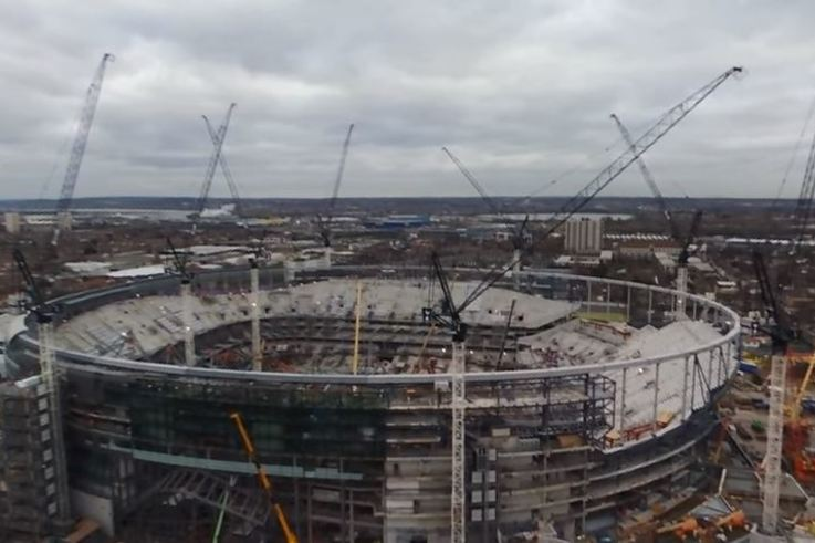 Spurs stadium Feb 2018