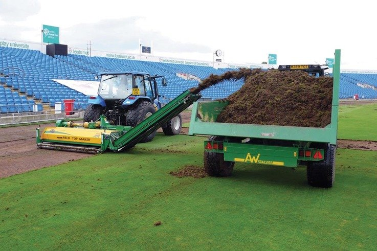 Photo 1 - Removing existing grass cover from outfield.jpg