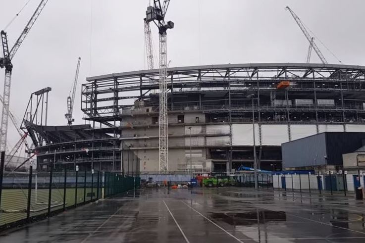 Tottenham Hotspur stadium progress