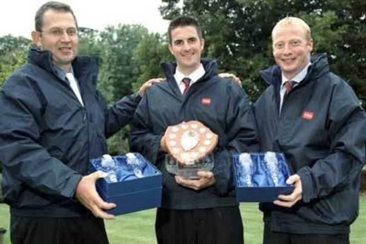Alan Awarded 2005 TORO Student Greenkeeper Prize.