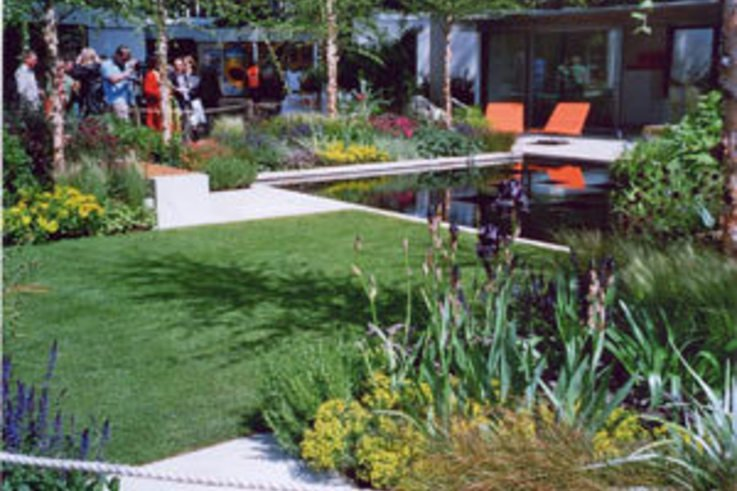 Grassfelt takes Gold at Chelsea Flower Show