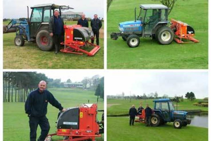 Northern Ireland Golf Clubs choose Wiedenmann Deep Aerators