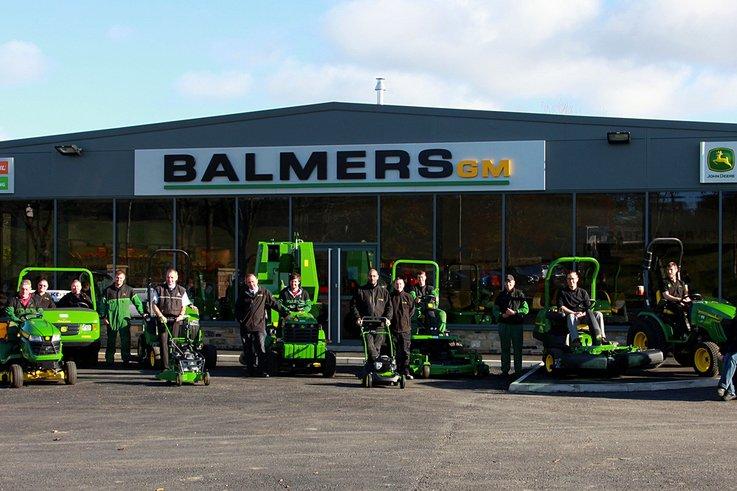 Balmers GM Ltd new premises staff
