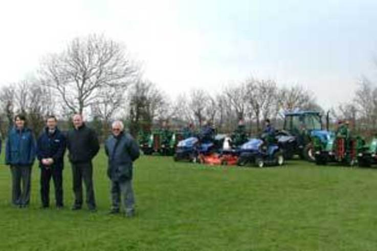 Major Investment in New Turf Equipment by Wyevale Grounds Maintenance