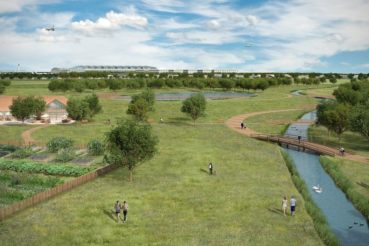 Heathrow Green Spaces CGI 1 Colne Valley