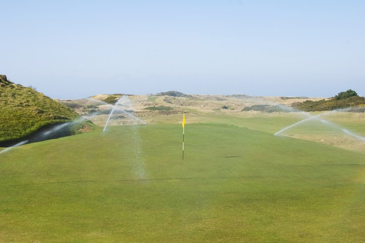 Royal Troon irrigation