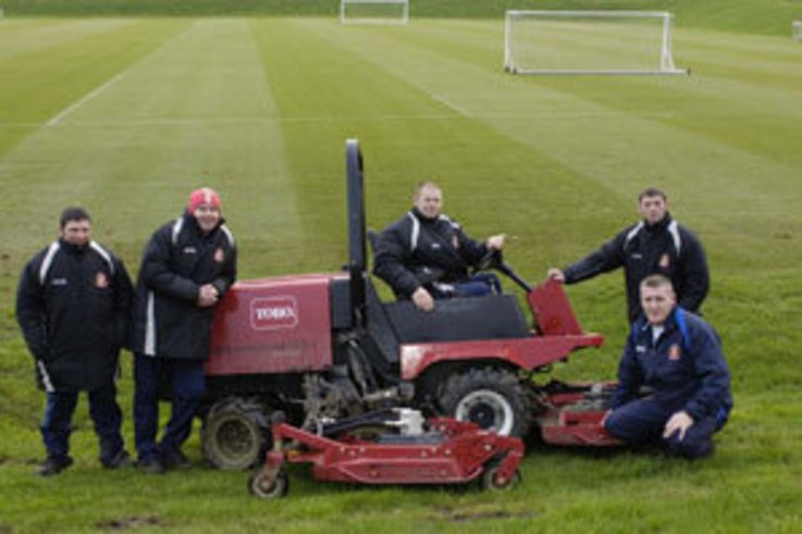 Sunderland AFC sees big pitch improvements with Toro Kit