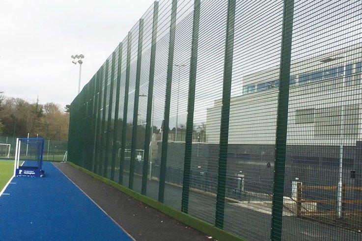 Zaun Fencing Nottingham Uni lacrosse panels