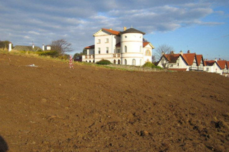 Elevation, wind and granite….. Challenging irrigation upgrade at Gullane