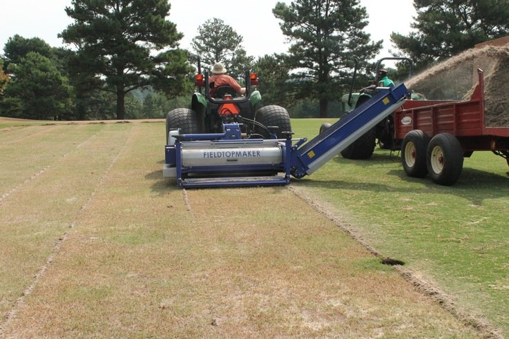 Campey at STMA GIS with the Koro Field TopMaker