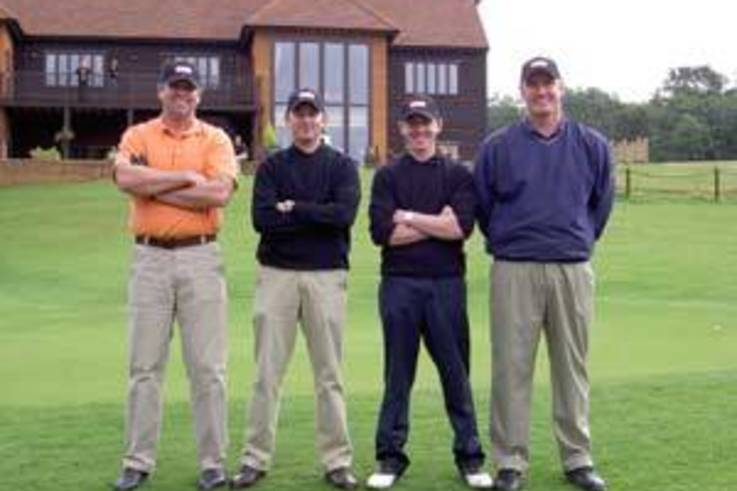 Charterhouse tee off for charity