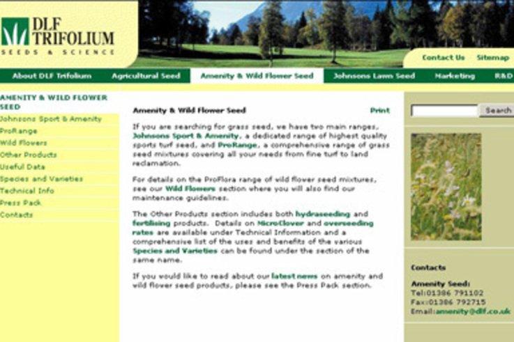 DLF Trifolium go live with their new Website Press Release