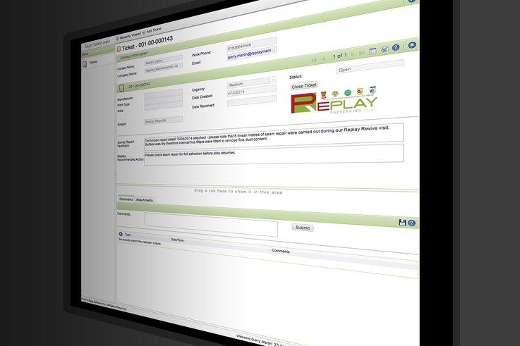 Replay Screen