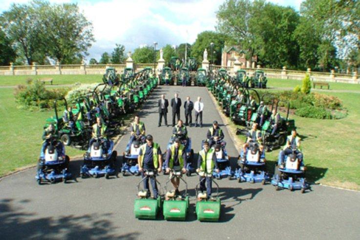 Biggest Grounds Care Fleet ever Assembled