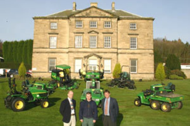 New fleet for new course - Close House Golf & Country Club