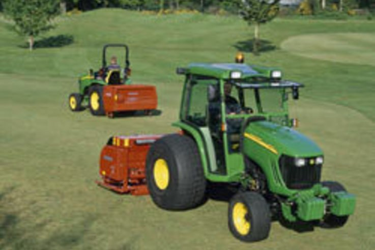 New John Deere machines at BTME 2005