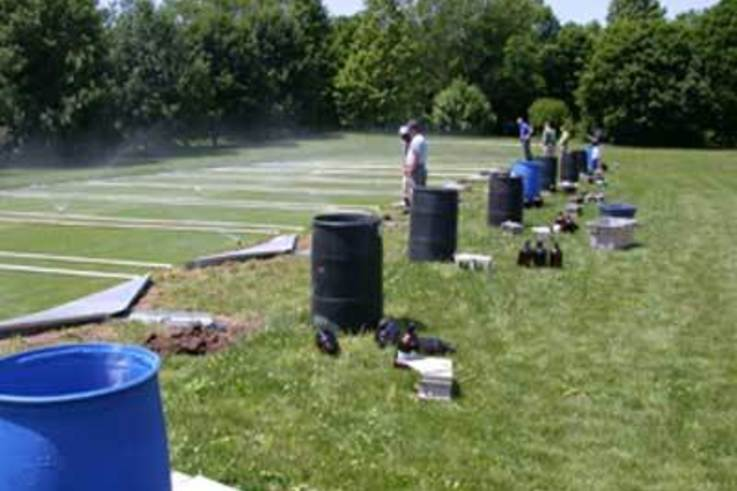 Best Management Practices to reduce Pesticide runoff from Turf