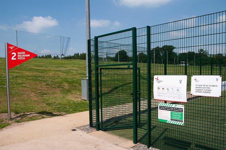 'Beckham' 3G community pitch