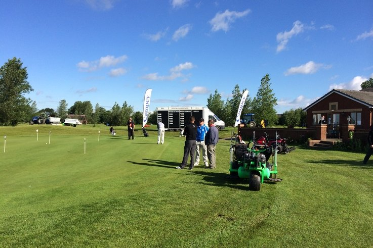 Campey Pro  Greenkeeper Challenge at Hart Common GC June 2014 (1)