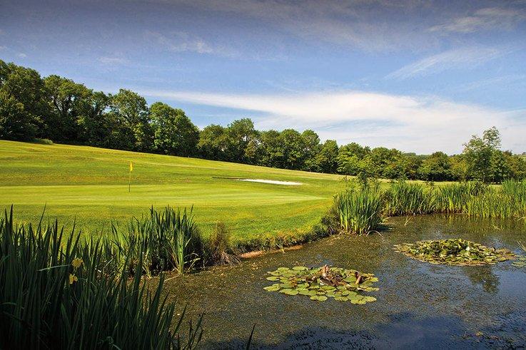 Brynhill Golf Club pond