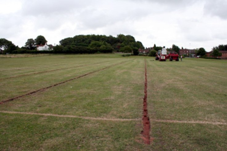 Sunken Trench Lines could cause problems